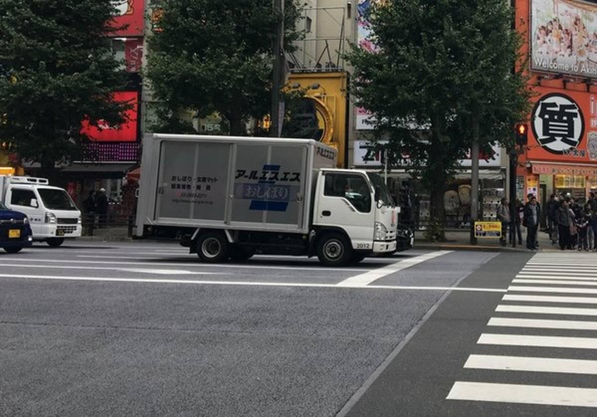 真的羡慕了日本的货车不限高、不限行、不限号卡友:有没有百吨王?
