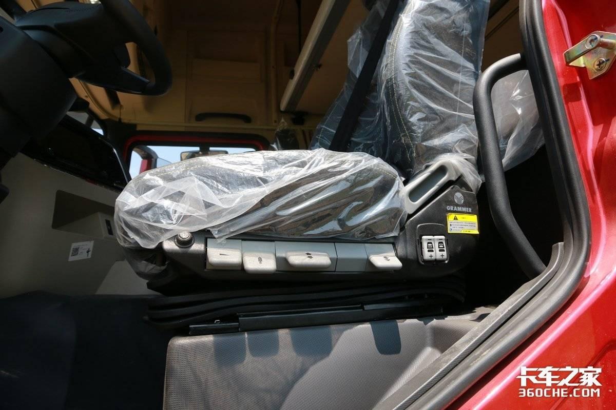 潍柴11L匹配法士特16挡AMT这款陕汽德龙X5000还是怀挡设计