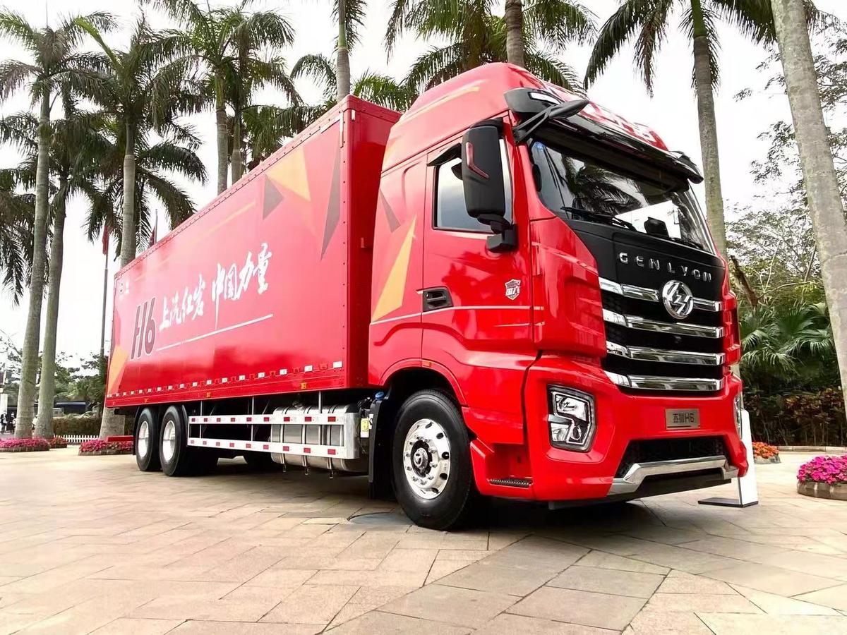 一辆货车如何提升卡友幸福感?看上汽红岩国六载货车如何诠释