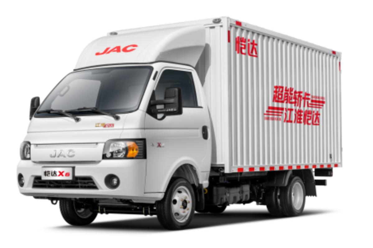 江淮恺达X61.5T更超能城配运输好选择