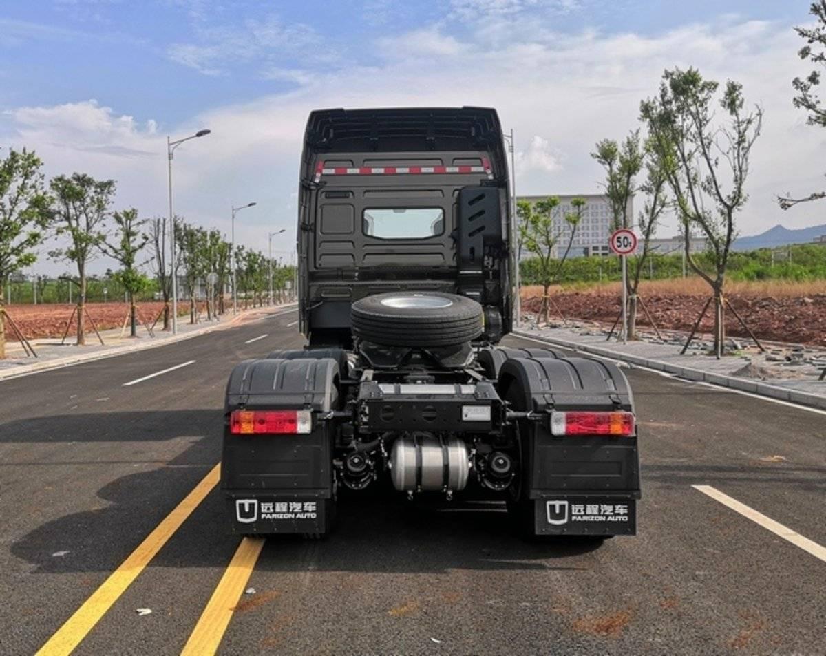 吉利柴油重卡就要来了远程G1D牵引车亮相工信部