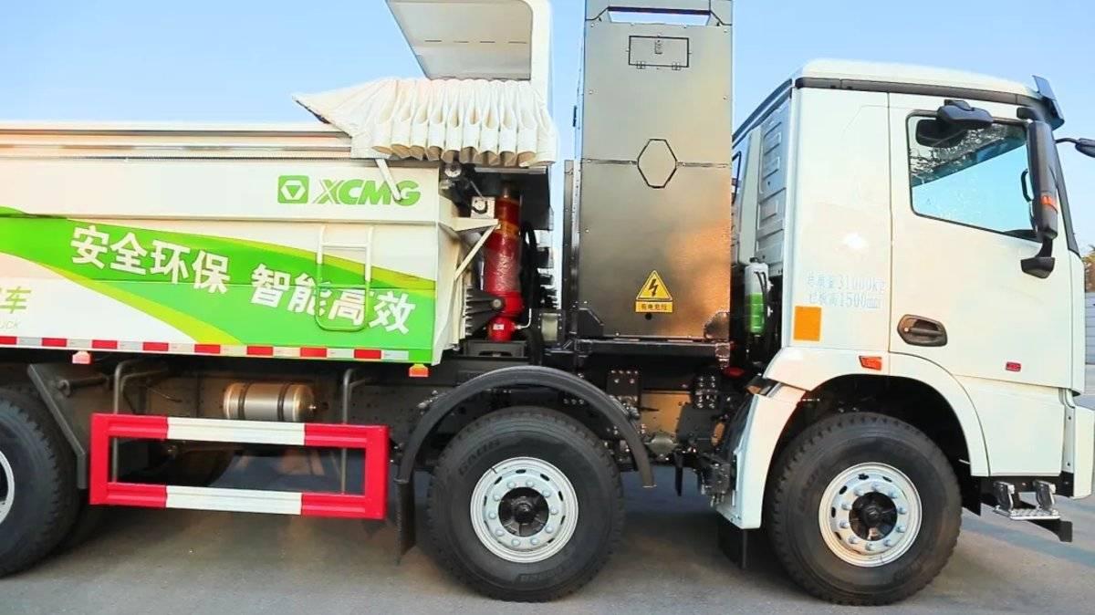 你好热干面!徐工重卡50台充换电一体自卸车发往武汉