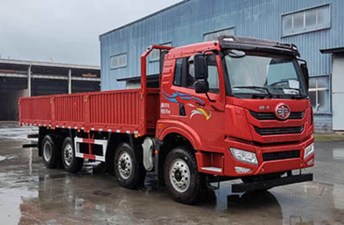 目标锁定细分市场解放申报8x2提升桥载货车