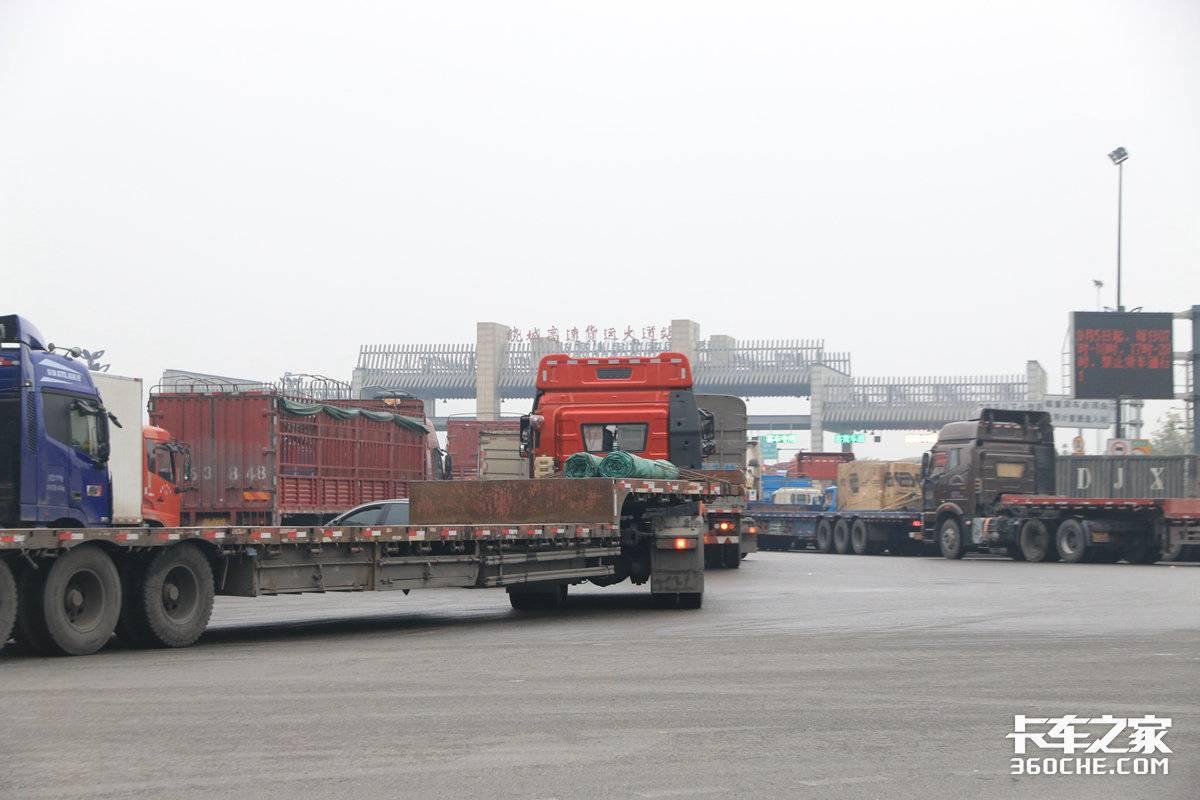 江湖套路深17.5米和13.75米平板挂车上路竟有这般骚操作