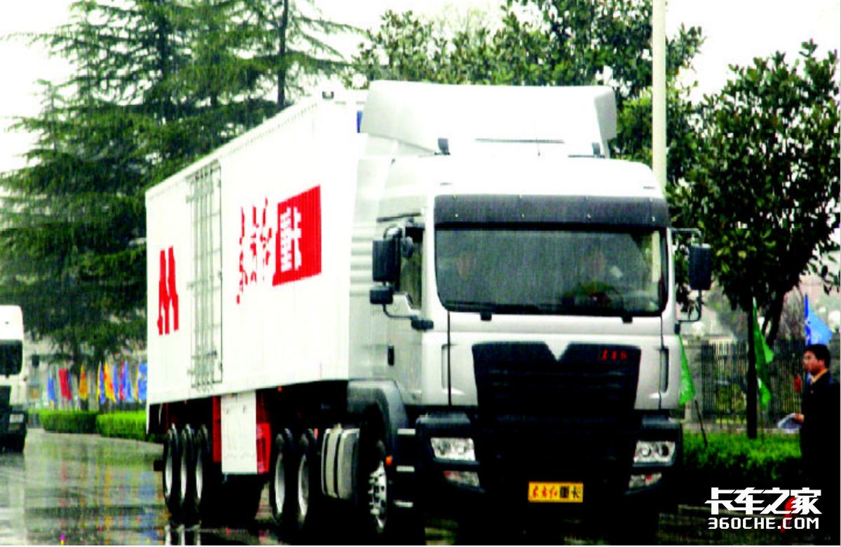 那些让我印象深刻的卡车:一拖东方红重卡一款搞副业的产品
