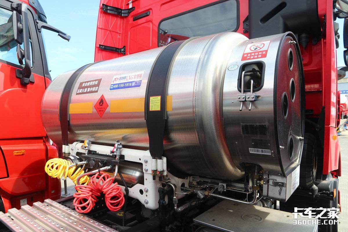 LNG市场又一黑马?41万的远程燃气重卡如何?外观极具震撼力!