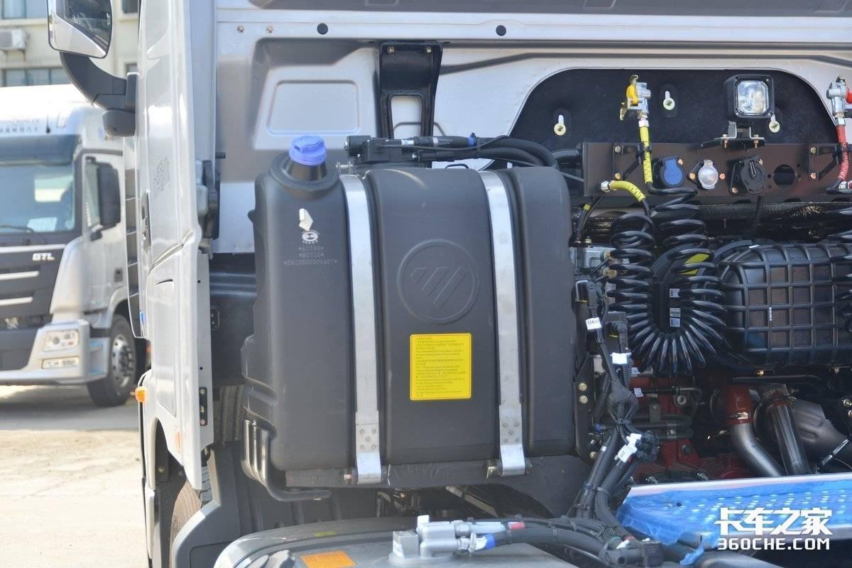 580匹动力还有AMT这台欧曼轻松跑全国