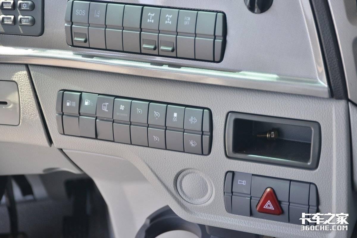 580马力福康机还配ZF自动挡开着这台福田欧曼EST轻松跑全国