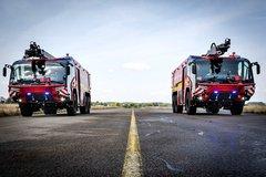 配700马力发动机! 卢森宝亚机场消防车