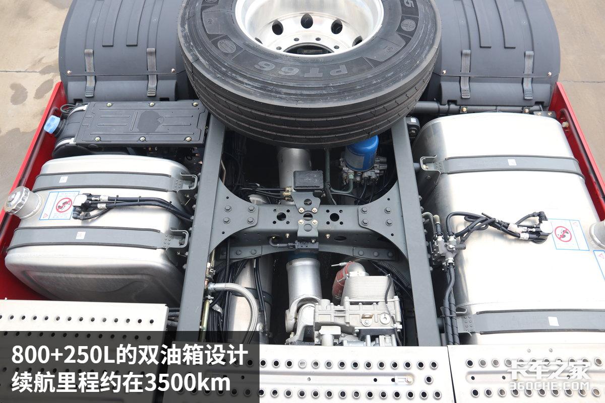 550马力徐工P9裸车48.8万带AMT和液缓还是空气悬架