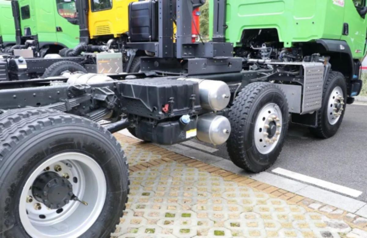 速速围观国六乘龙M3轻量化自卸车优势