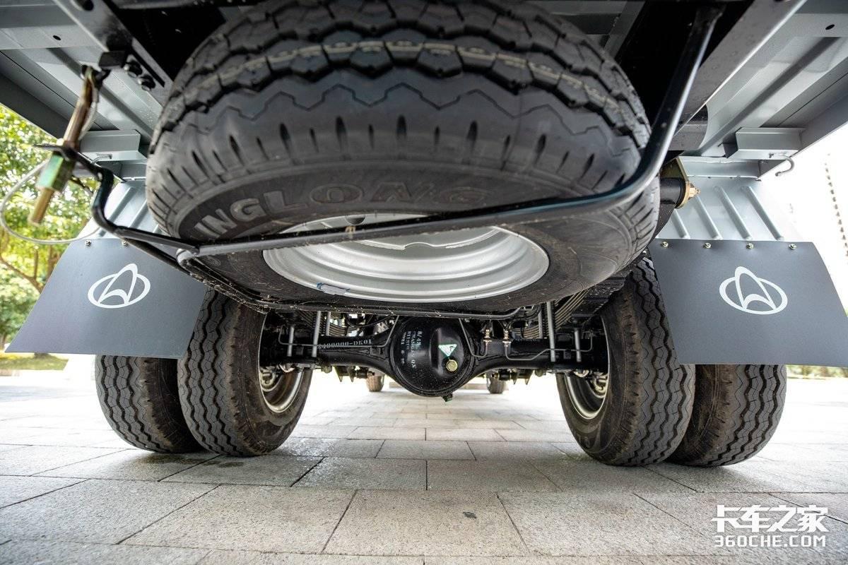 标配胎压监测装轻卡大梁这款神骐T30要替代蓝牌轻卡?