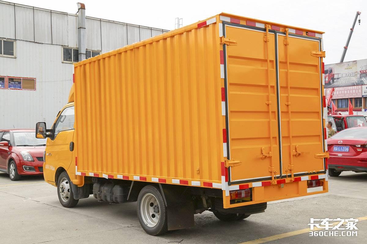这身材小巧吗?6.98万拿下恺达X5货厢容积10.7方