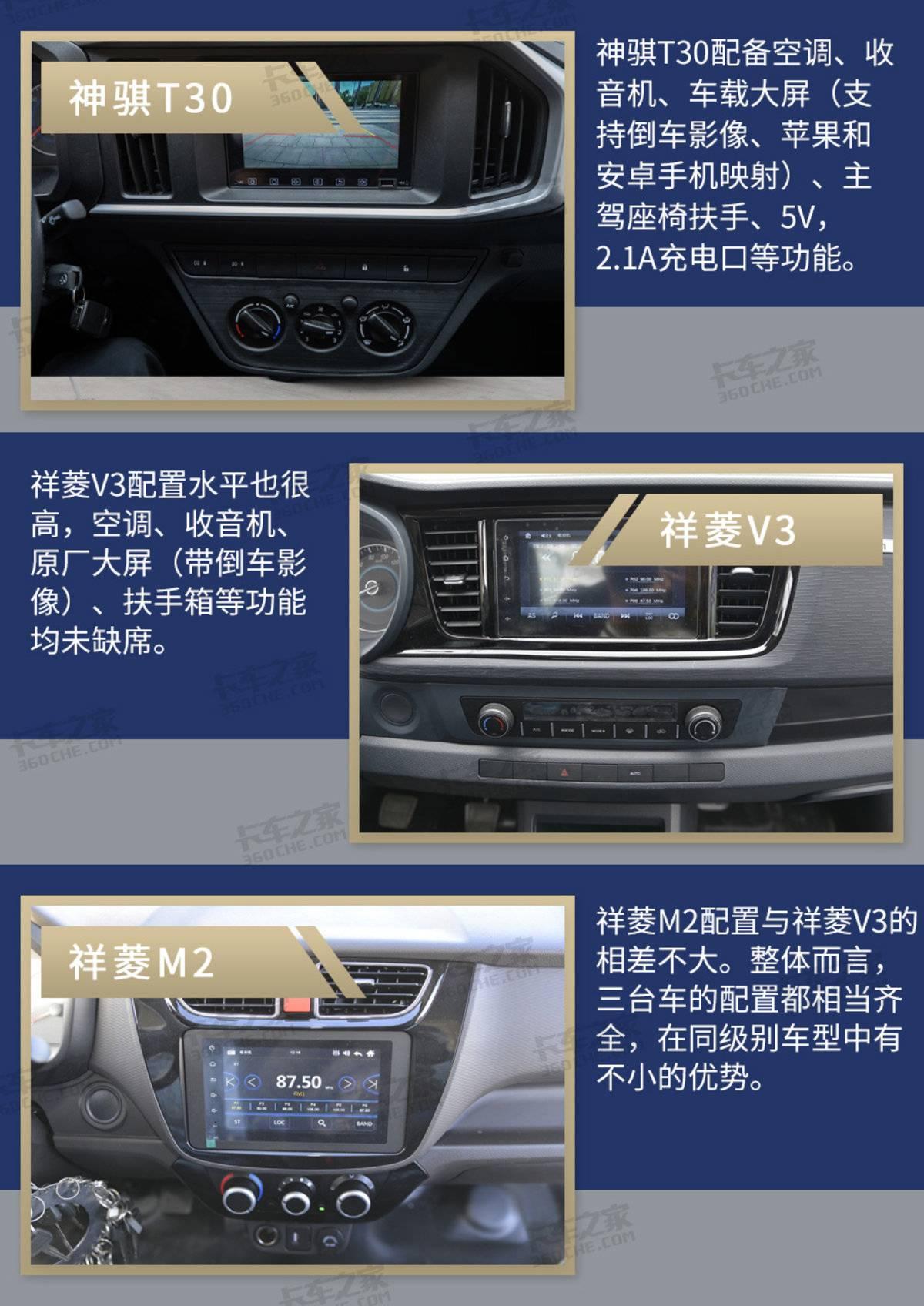 长安神骐T30对比福田祥菱系列谁才是真正的小卡标杆?