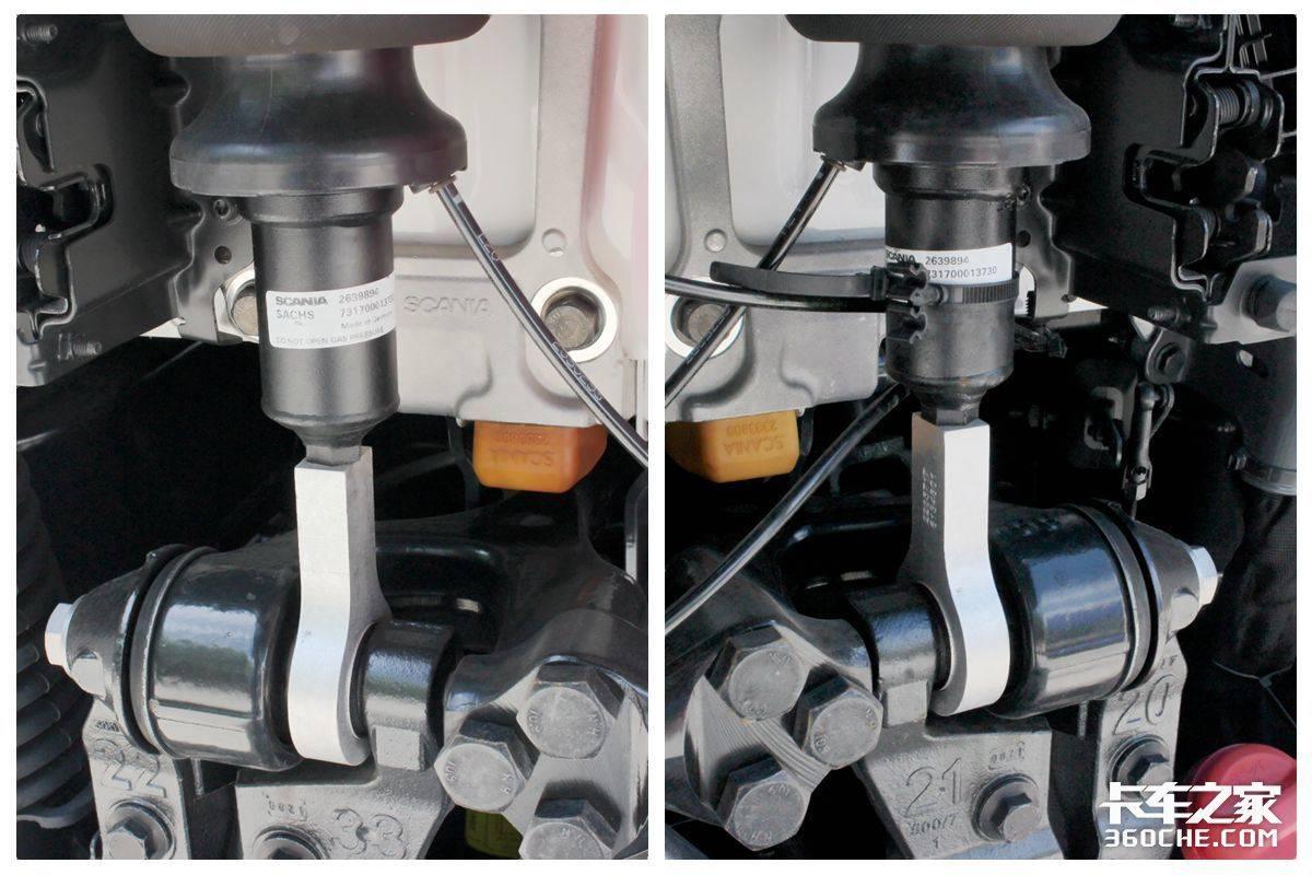4x2牵引车成为快递主流车型13升斯堪尼亚G450是标杆