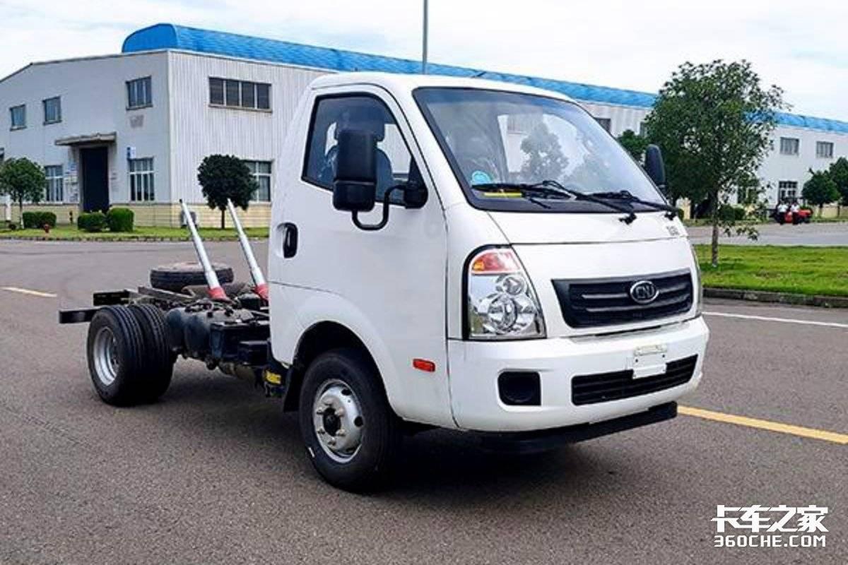 搭载更大的全柴2.3升动力南骏瑞迪小卡自卸车上新!