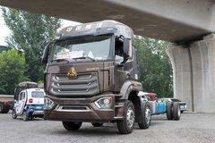 290马力还配9米6大货厢 6x2重汽N5G图解