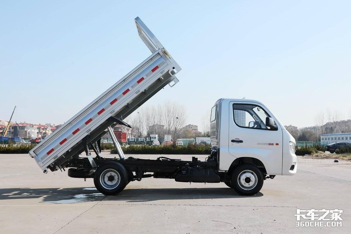 工程运输王者福田瑞沃携全系产品燃爆国六市场