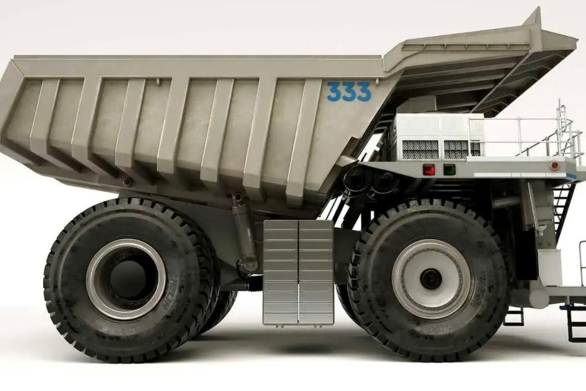 劳斯莱斯发布概念混动采矿卡车这是要挺进卡车圈?