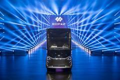 百度狮桥联手  智能新能源卡车应势而生