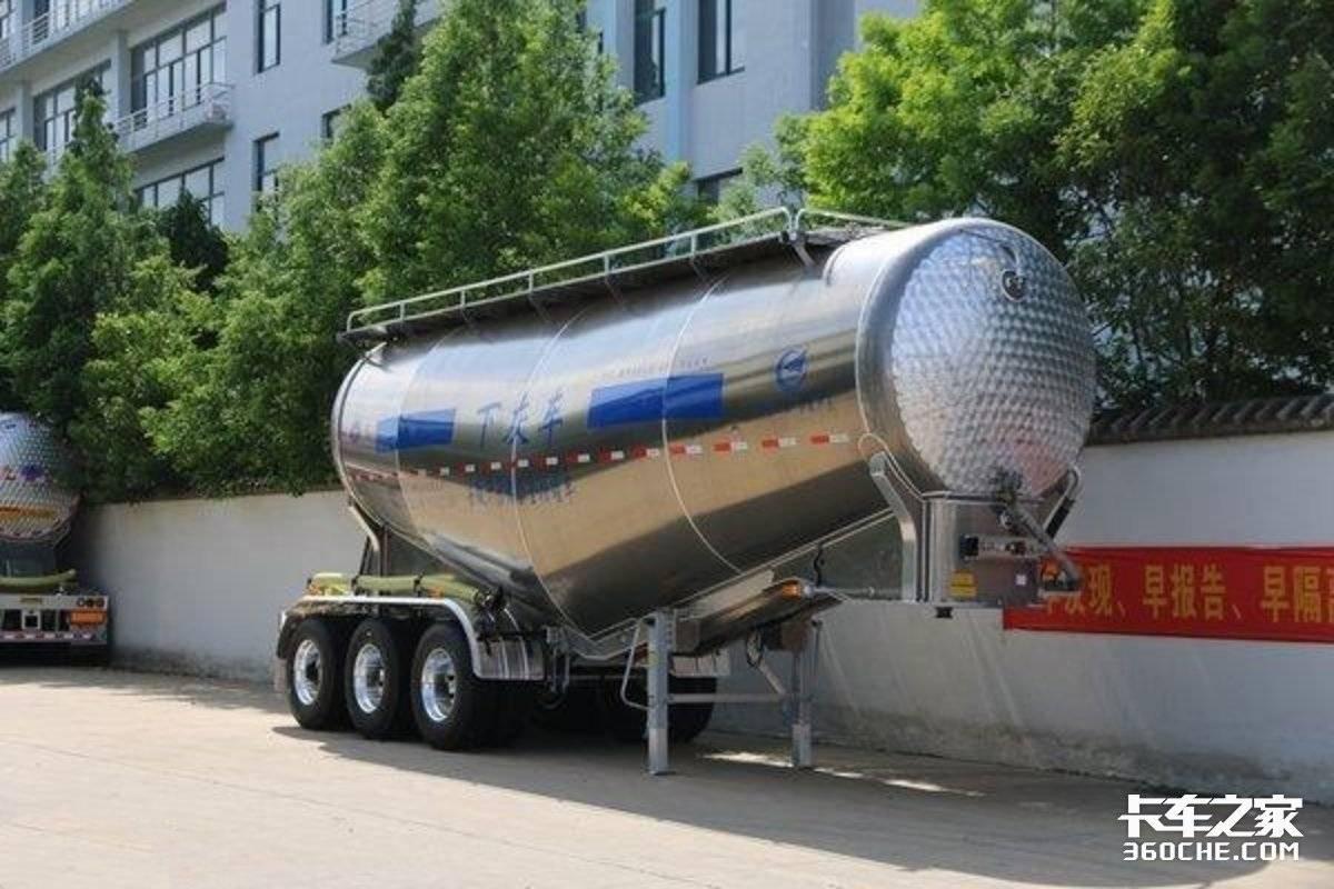 基建狂魔粉粒物料罐车的构造你了解吗