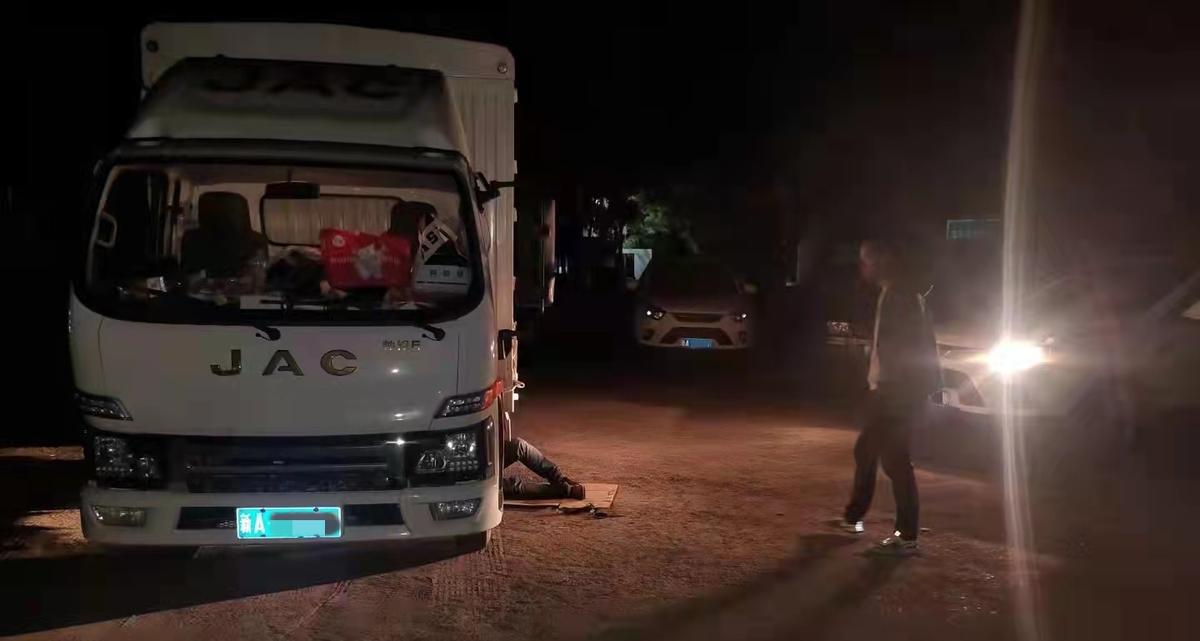 连夜奔袭5小时300公里江淮轻卡全力保障用户用车无忧