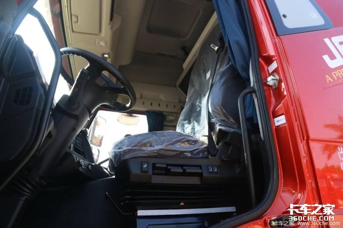 高性价比之选!图解解放J6P质惠版2.0配备座椅通风