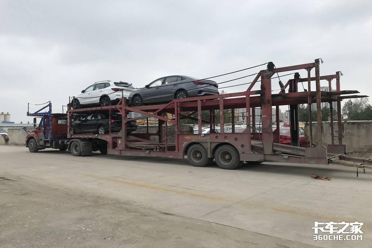 蹭坏车顶赔了2万9轿运车倒短是啥体验