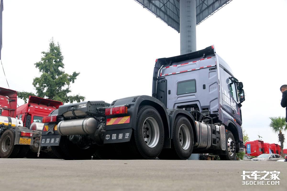 500马力段再添猛将!图解全新重汽豪沃MAX自重仅8吨出头