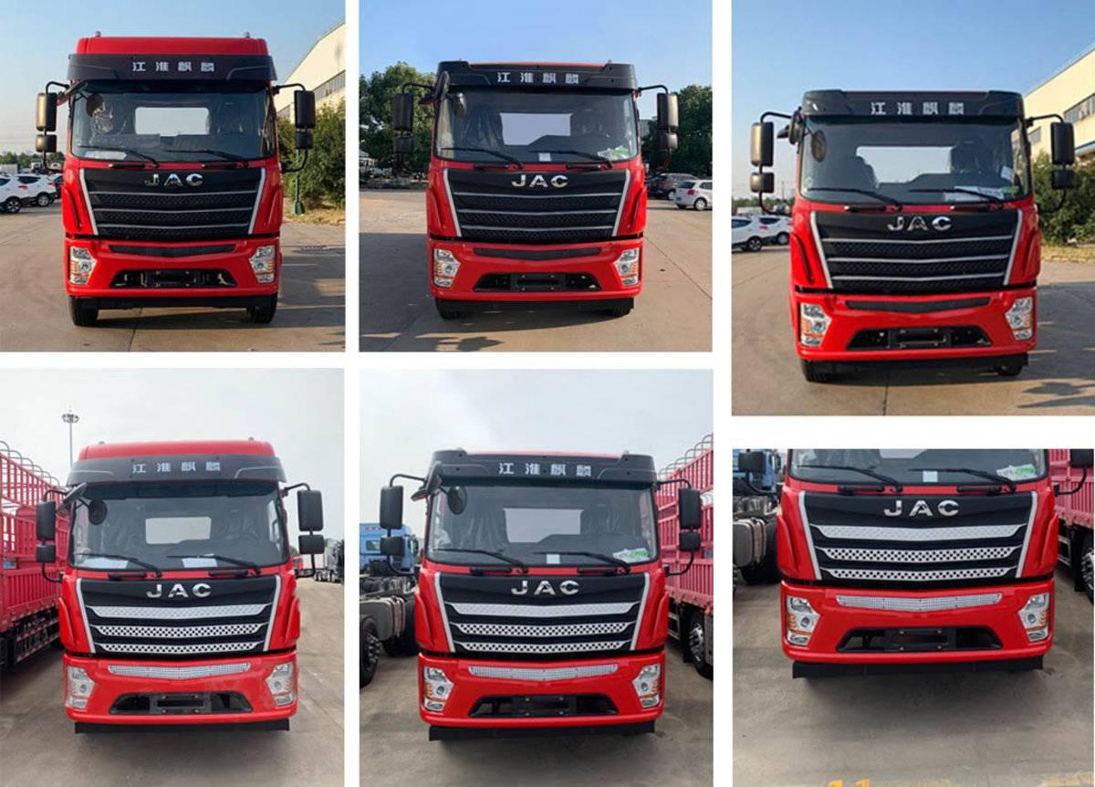 全新设计三轴车装17吨江淮新车叫麒麟