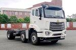 5米厢车配重卡头 重汽N7W6x2载货车申报